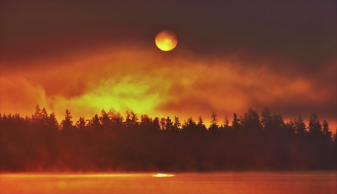 Fog over Lake Tapps Photo courtesy YouNews contributor: troxa41622511086