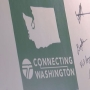 Inslee, city officials reveal signs for 'Connecting Washington'