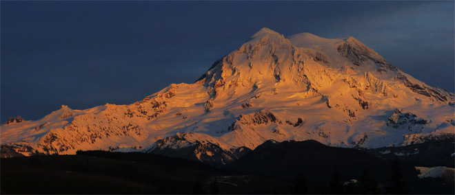 Soft Light on the Big Mountain -- (Photo courtesy: YouNews contributor troxa41622511086)